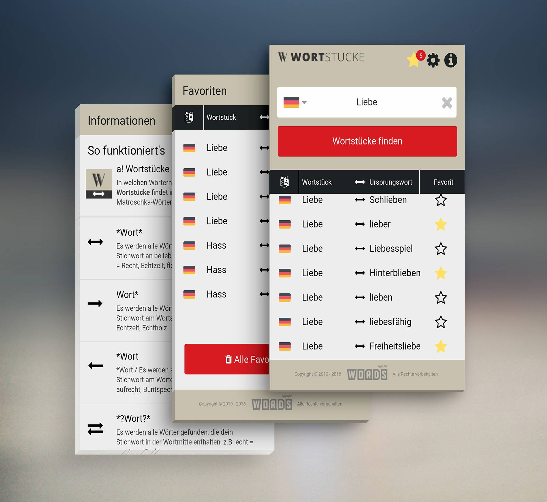 App-Screens-Wortst cke